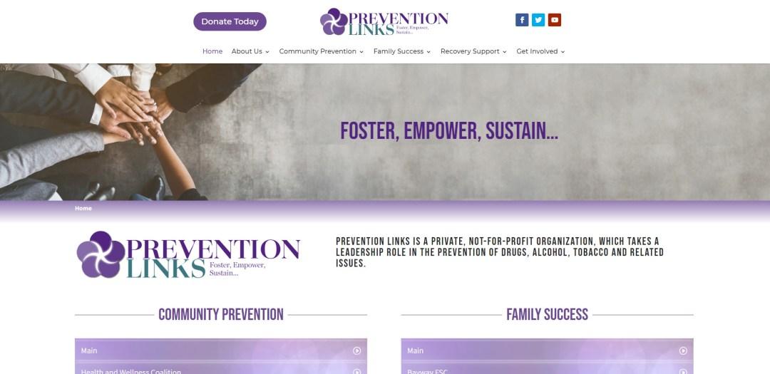 Prevention Links Website