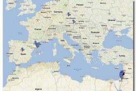 How to Go to Israel via Vienna and Prague and Come Back via Spain