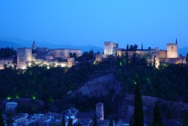 Twilight View of The Alhambra