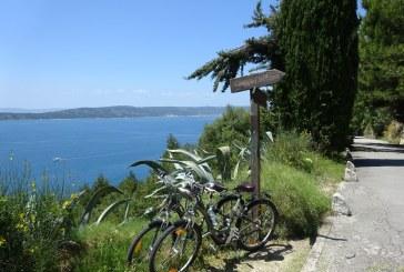 Biking Split's Marjan Peninsula