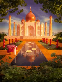 The Taj Mahal was built for Mumtaz Mahal, the third wife of Mughal emperor Shah Jahan