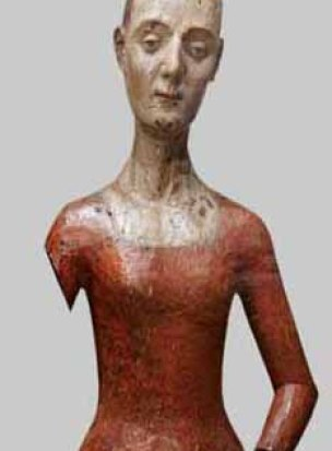 Funeral effigy of Katherine de Valois, WEstminster Abbey Museum