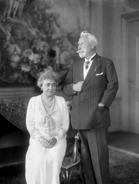 Kaiserpaar im Haus Doorn