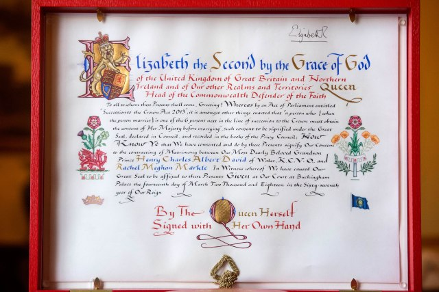 Instrument of Consent