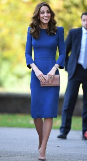 Blue Jenny Packham Dress