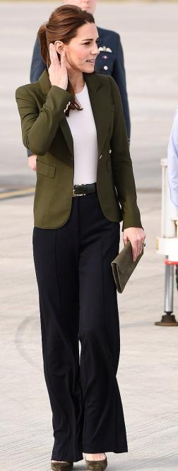 Green Smythe Blazer & Jigsaw Trousers