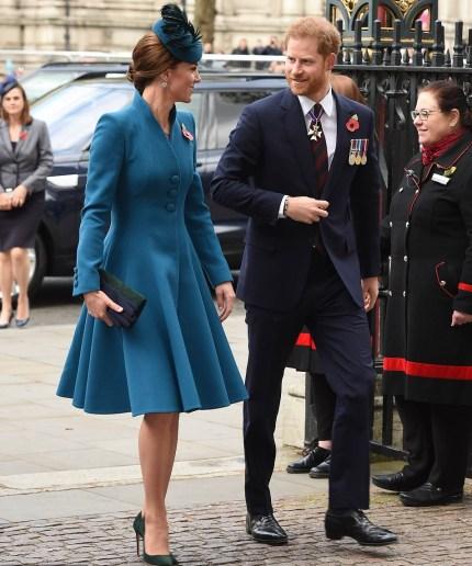Blue Catherine Walker Coat Dress