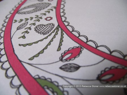 Patterned Initial_detail 2