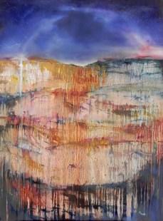 """""""The Silent Land""""—oil, 36""""x24"""", unframed"""