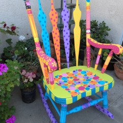 Funky Wooden Chairs Dining Chair Covers Walmart Canada Emily A Hopefull Rocking Rebecca Waring Crane