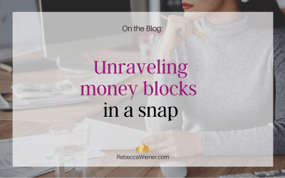Unraveling money blocks in a snap