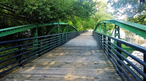 Salado Walk Bridge