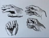 Hands ink