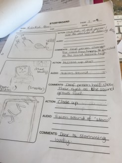 age 3: Storyboard