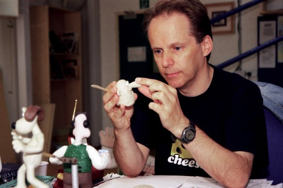 Nick Park create the model for Wallace and Gromit