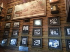 The decor pays tribute to Savannah's rich history and families that drove the seafood industry.