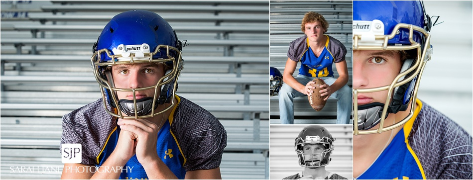 football sports HS senior guy photographer Sarah Jane