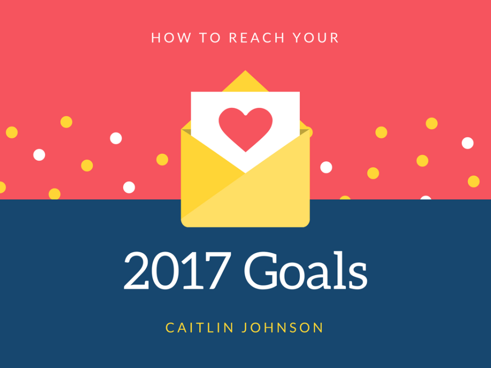 2017 goal setting for creatives