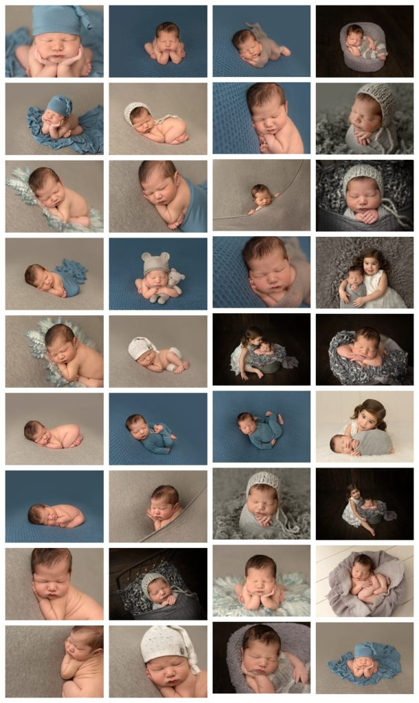 neutral background baby photographer Andrea Kinter
