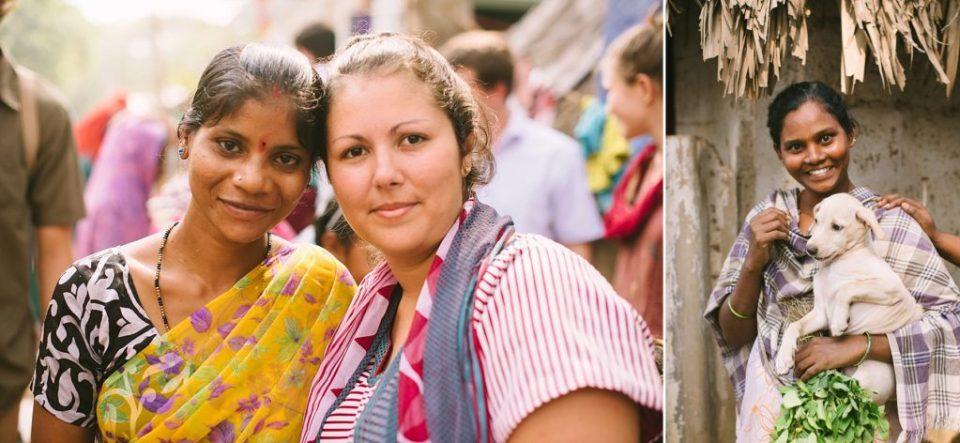 Megan in India