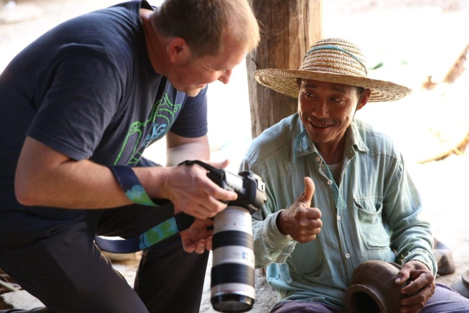 Canon lens and camera in a developing country