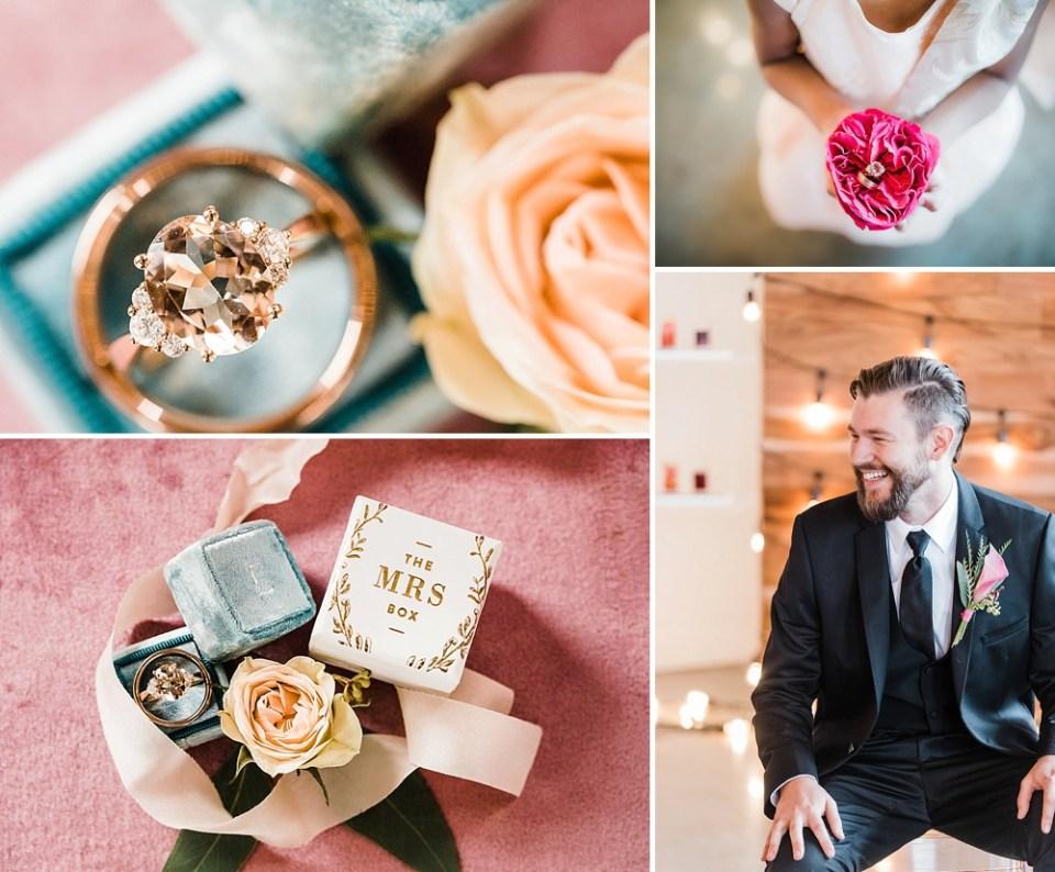 Mrs. Box wedding ring photos
