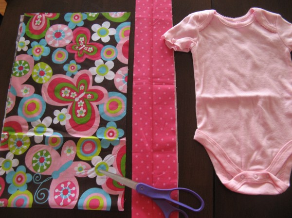 Diy Baby Dress In Middle