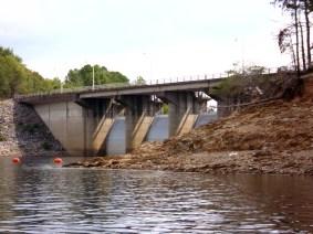 Broken Bow Dam.