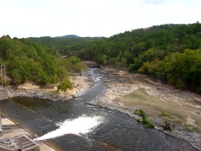 The other side of Broken Bow Dam.