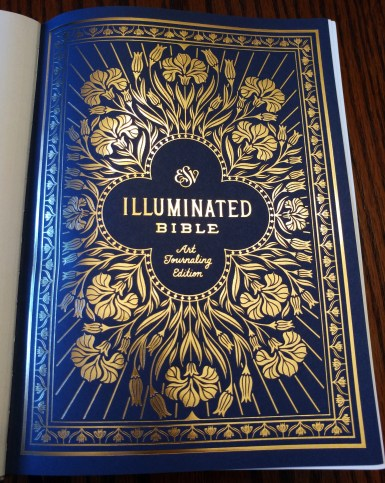 ESV Illuminated Bible title page