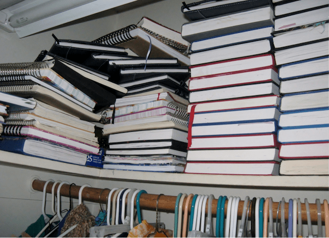 A Closet full of journals