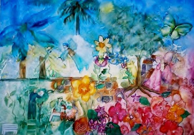 Painting by DiVoran Lites