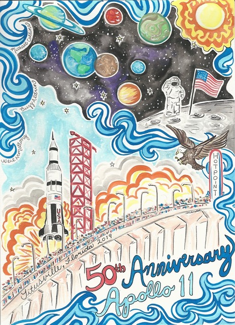 3-2-1 Apollo 11 Celebrations and Giveaway