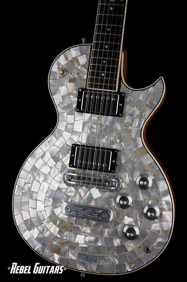 gibson guitar wiring diagrams electric stove diagram 1987 zemaitis pearl front | rebel guitars