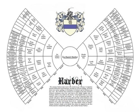 Are there different types of genealogy pedigree chart?