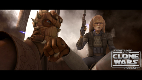 """Jedi Master Di and rebel leader Cham Syndulla formulate their battle plan in """"Supply Lines,"""" an all-new episode of STAR WARS: THE CLONE WARS premiering at 9:00 p.m. ET/PT Friday, September 24 on Cartoon Network.  Trademark information for Star Wars: The Clone Wars images:  TM & © 2010 Lucasfilm Ltd. All rights reserved."""