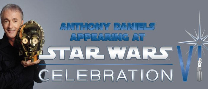 Anthony Daniels at Star Wars Celebration VI!