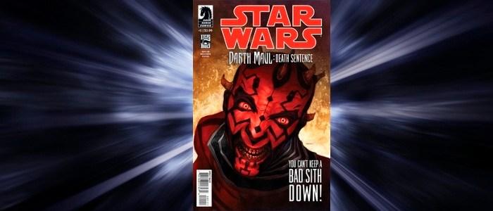 Star Wars Comic Review: Darth Maul: Death Sentence #1