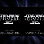 Official Press Release For Episodes II & III In 3D