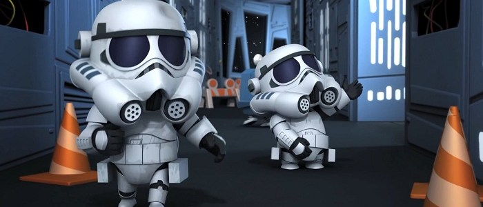 Three More New Star Wars Detours Clips!