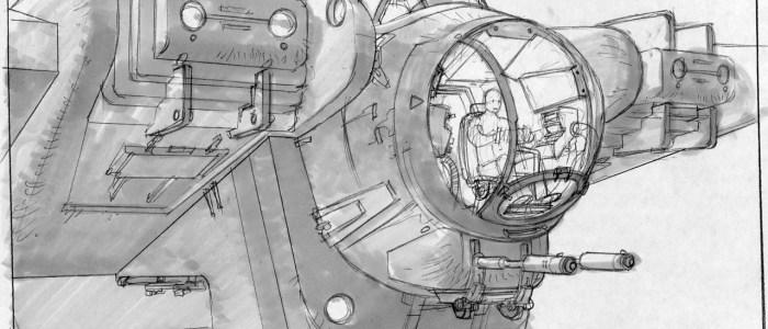 Kilian Plunkett's Concept Art For The Ghost