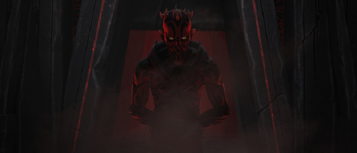 First Clip Of Darth Maul From The Season 2 Finale!