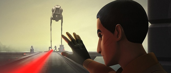 New Clip From The Star Wars Rebels Season 3 Premiere Featuring Ezra