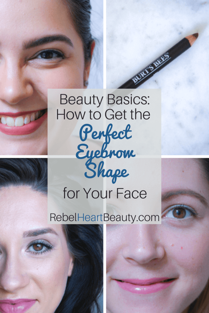 Beauty Basics How To Get The Perfect Eyebrow Shape For Your Face