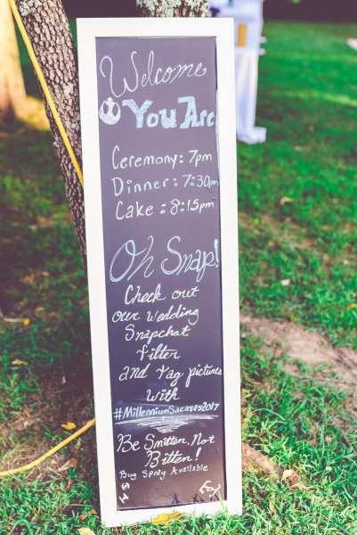 Star Wars Wedding Signs