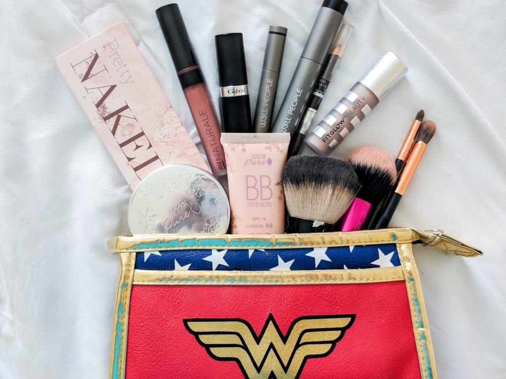 Organic Travel Makeup Bag