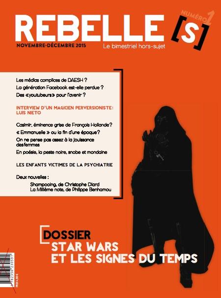 La couverture de Rebelles(s) Magazine n°1