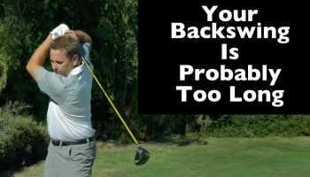 The shoulder backswing vs  the arm backswing · Rebellion Golf