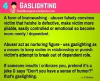 Psychology # 4  Gaslighting  Rebellious Scapegoat