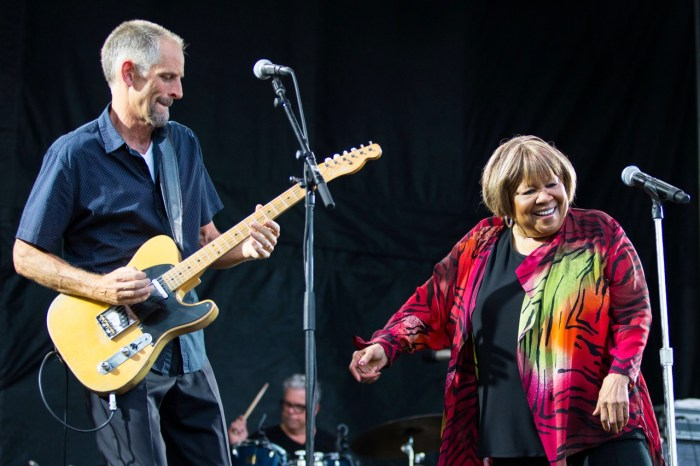 Mavis Staples performing at Pitchfork Music Festival on Friday, July 19, 2019